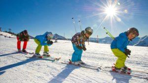 Гонка для детей «Лыжня здоровья», реализованная в рамках партпроекта, завершилась в Томской области