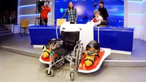 Изобретатель подводной коляски номинирован на премию «Хрустальный компас»