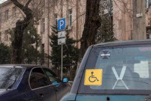 Знак «инвалид» фактически перестал действовать с 1 июля