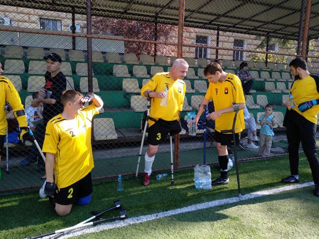 Кузбассовцы заняли 2-е место на международном турнире по футболу среди команд инвалидов-ампутантов