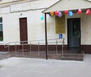 В Кемерове спортивную школу оборудовали для людей с инвалидностью