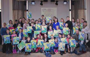 В Кемерово прошла благотворительная Арт-вечеринка «Мир добра»