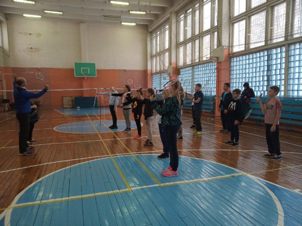 Бадминтон – спорт для всех: городской проект для особых детей