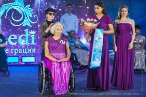 Беловчанка стала финалисткой конкурса красоты для женщин на инвалидных колясках